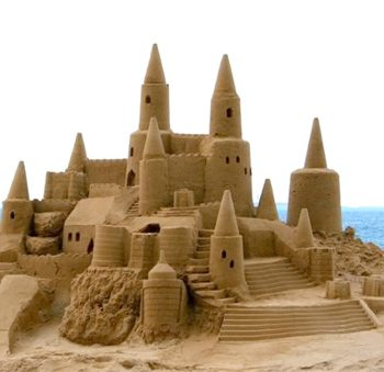 Sand Sculpting Teambuilding activity