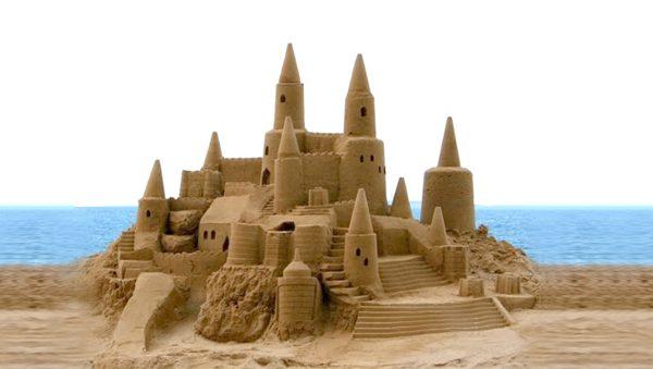 Sand Sculpting Teambuilding activity